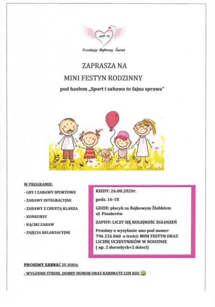 Już dziś – Mini Festyn na Brochowie!!!